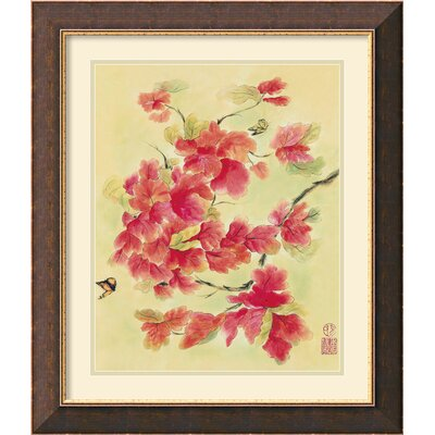 Autumn Leaves II Framed Print by Suzanna Mah Fong