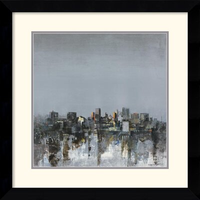 Amanti Art City Trance II Framed Print by Kemp