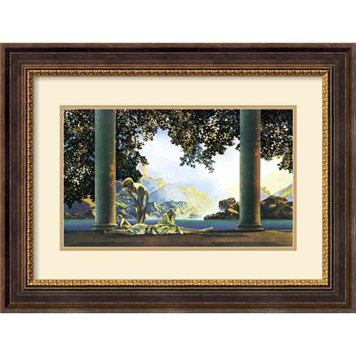 Amanti Art Daybreak Framed Print by Maxfield Parrish