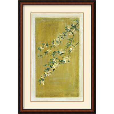 Plum Blossoms II Framed Print by Paris Gerrard