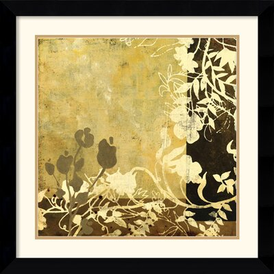 Amanti Art Symphony in Bronze II Framed Print by Kemp
