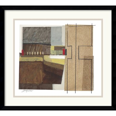 Amanti Art Syncopated Rhythm Two Framed Print by Craig Alan