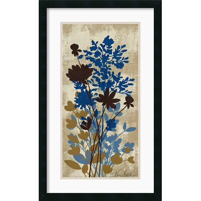 Spring Bouquet I Tan Framed Print by Silvia Vassileva
