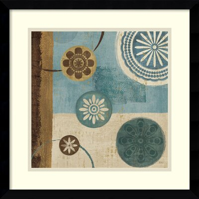 Amanti Art New Generation Blue II Framed Print by Veronique Charron