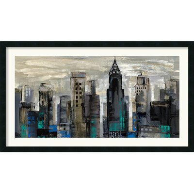 Amanti Art New York Moment Framed Print by Silvia Vassileva