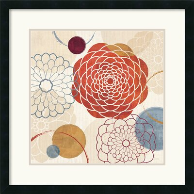 'Abstract Bouquet I' by Veronique Charron Framed Graphic Art