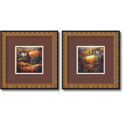 Tuscany Framed Print by Nancy O'Toole (Set of 2)