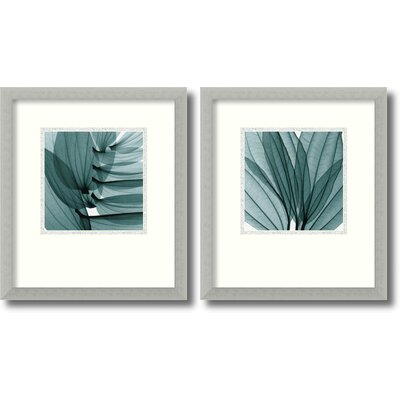 Silver Lilies Framed Print by Steven N. Meyers (Set of 2)