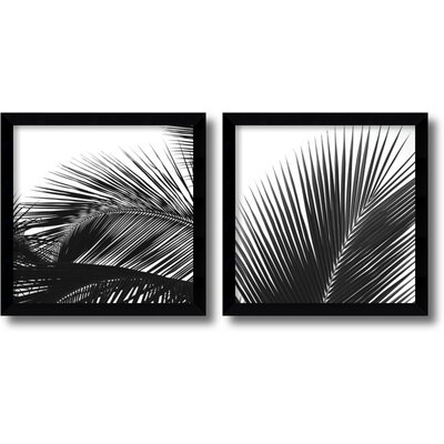 Amanti Art Palm Details Framed Print by Jamie Kingham (Set of 2)
