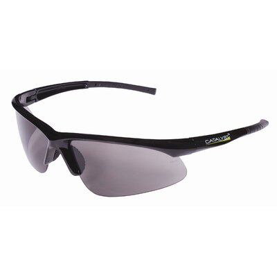 Catalyst Dual Wrap-Around Safety Glasses with Gray Anti-Fog Lens
