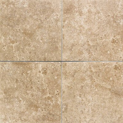 "American Olean Carriage House 6"" x 6"" Glazed Wall Tile in Saddle"