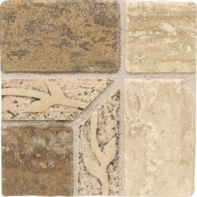 "American Olean Carriage House 4"" x 4"" Universal Stone Accent Corner Tile"