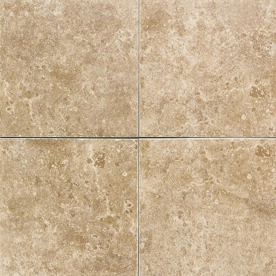 "American Olean Carriage House 12"" x 12"" Glazed Field Tile in Saddle"