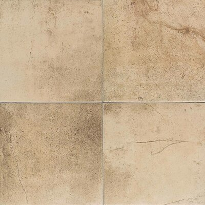 "American Olean Costa Rei 18"" x 18"" Glazed Field Tile in Oro Miele"