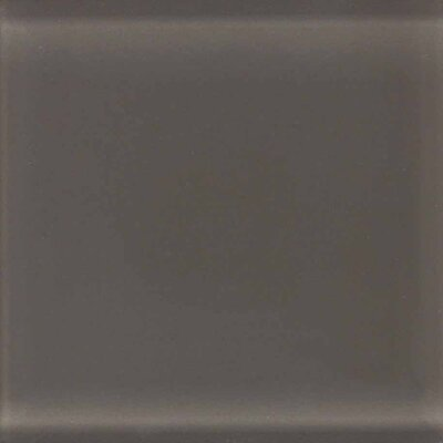 "American Olean Legacy Glass 4-1/4"" x 4-1/4"" Glazed Field Tile in Mink"