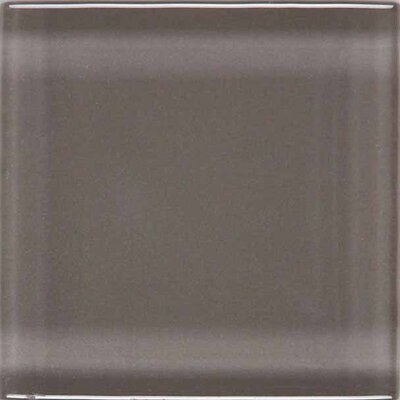 "American Olean Legacy Glass 12"" x 12"" Glazed Solid Wall Mosaic in Orchid"