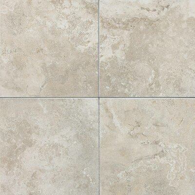 "American Olean Pozzalo 18"" x 18"" Glazed Field Tile in Sail White"