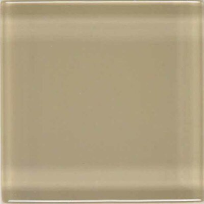 "American Olean Legacy Glass 12"" x 12"" Glazed Brick Joint Mosaic Tile in Willow"