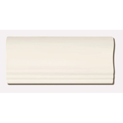 "Emser Tile Classica 4"" x 9"" Crown in Cream"
