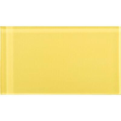 emser tile lucente 3 x 6 glossy glass tile in
