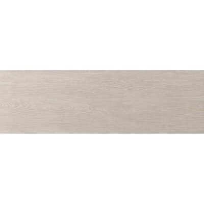 "Emser Tile Alpine 8"" x 36"" Glazed Porcelain Floor Tile in Cream"