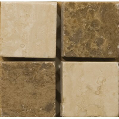 "Emser Tile Natural Stone 2"" x 2"" Scala Travertine Listello Corner"