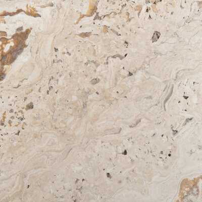 "Emser Tile Natural Stone 8"" x 8"" Chiseled Travertine Field Tile in Scabos"