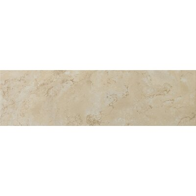 "Emser Tile Cordova 17"" x 17"" Glazed Ceramic Tile in Crema"