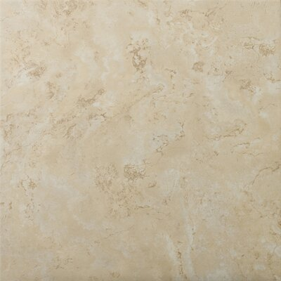 "Emser Tile Cordova 13"" x 13"" Glazed Ceramic Tile in Crema"