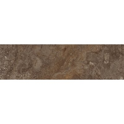 "Emser Tile Granada 13"" x 3"" Bullnose Tile Trim in Copper"