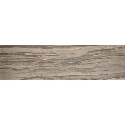 "Emser Tile Motion 13"" x 3"" Bullnose Tile Trim in Signal"