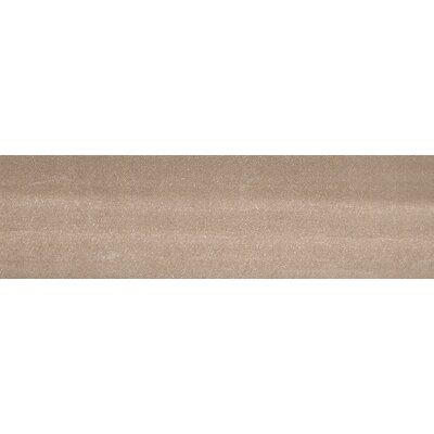 "Emser Tile Perspective 6"" x 24"" Glazed Porcelain Tile in Taupe"
