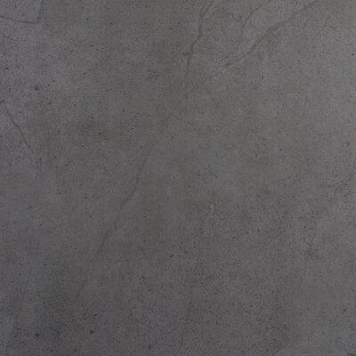 """Emser Tile St Moritz 18"""" x 18"""" Glazed Porcelain Tile in Gray"""