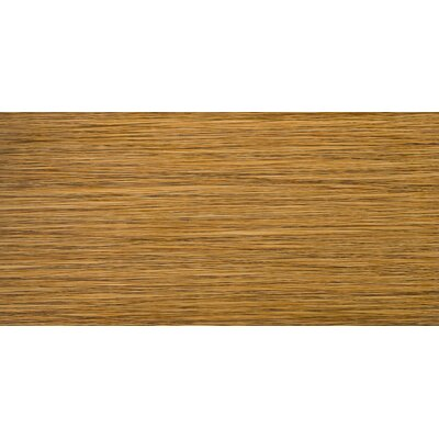 "Emser Tile Strands 12"" x 24"" Glazed Porcelain Tile in Bamboo"