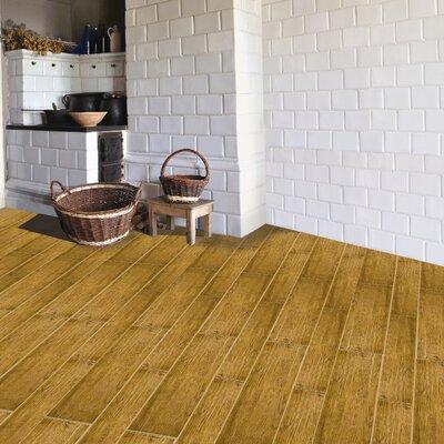"Emser Tile Country 4"" x 24"" Porcelain Plank Tile in Page"