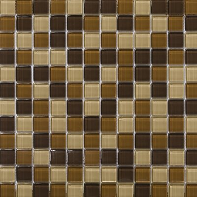 Emser Tile Lucente Glossy Mosaic Blend in Mountain
