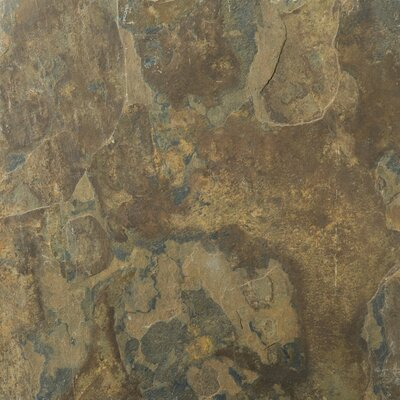 """Emser Tile Natural Stone 16"""" x 16"""" Calibrated Slate Tile in Rustic Gold"""