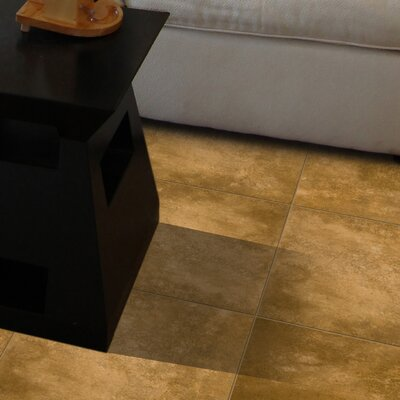 "Emser Tile Cabana 19"" x 19"" Glazed Ceramic Tile in Dorado"