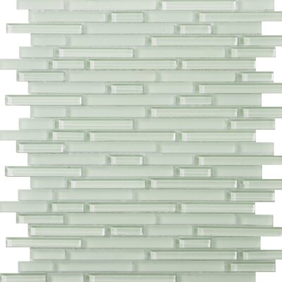 Lucente Random Sized Glass Mosaic in Cascade Linear