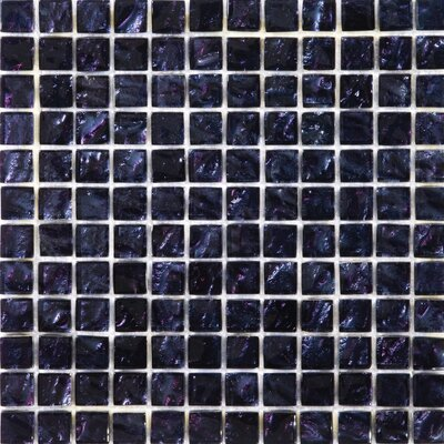 "Emser Tile Vista 13"" x 13"" Glass Mosaic in Seguso"