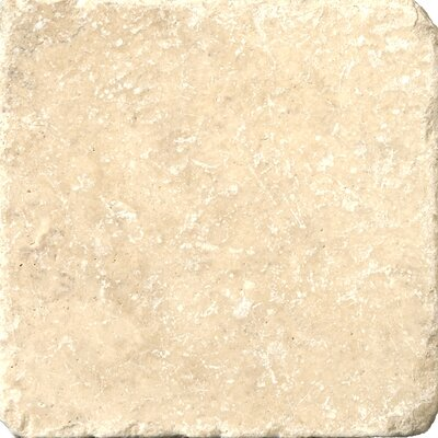 "Emser Tile Natural Stone 12"" x 12"" Vino Travertine Mosaic in Cream"