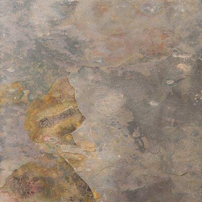 "Emser Tile Natural Stone 1"" x 1"" Slate Mosaic in Multi Rajah"