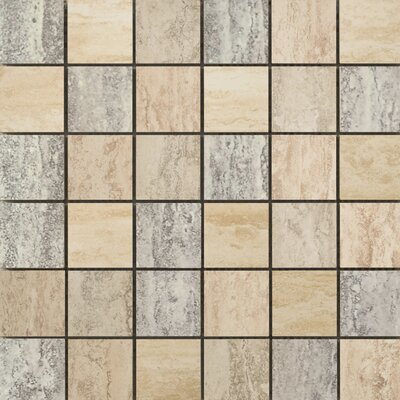 Emser Tile Titan Glazed Porcelain Mosaic in Blend Multicolor