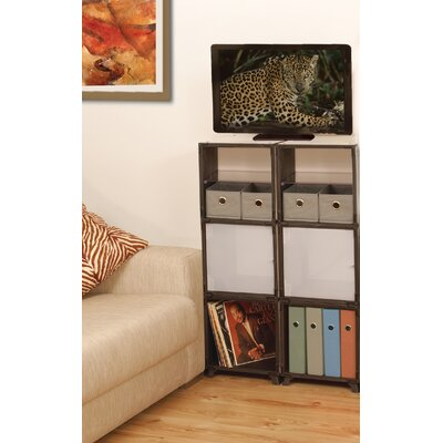 Yube Cube Living Room Multimedia Storage