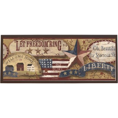 Americana Wall Plaque