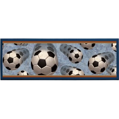 Illumalite Designs Soccer in Motion Wall Plaque