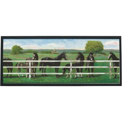 Illumalite Designs Saddle Up Wall Plaque