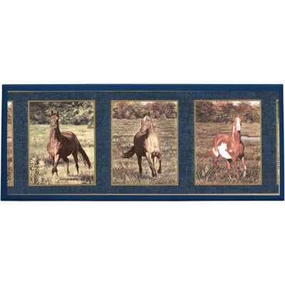 Illumalite Designs Majestic Horses Wall Plaque