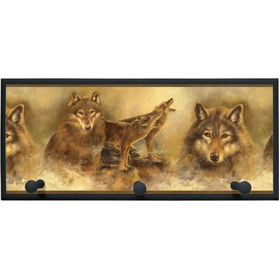 Illumalite Designs Howling Wolves Plaque