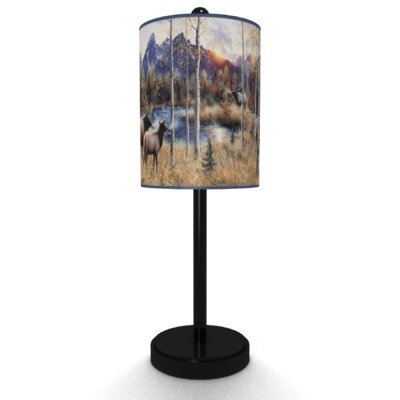 Illumalite Designs Elks Table Lamp